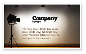 Photography Business Card Templates In Microsoft Word Publisher