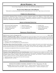 Sample Resume For Er Nurse Resume For Study