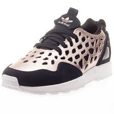 adidas zx flux black and gold womens. cheap adidas zx flux womens black new piting1138 and gold