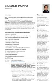 Chief Financial Officer Resume Samples VisualCV Resume Samples Delectable Cfo Resume