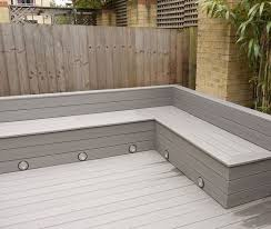 corner seating furniture. Wonderful Seating Michael Greenall  Decking In Poole Corner Seating With Storage For  Cushions And Built Lighting For Seating Furniture