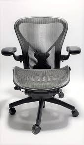 Aeron Office Chair Size Chart Herman Miller Aeron Chair With Posturefit Size B Or C Black