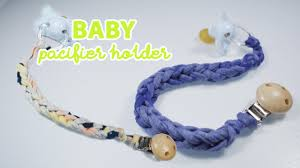 diy baby pacifier clip holder