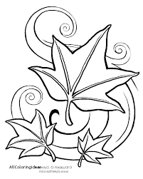 Free Printable Fall Leaves Coloring Pages Leaf Printable Coloring