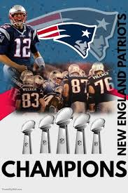 Postermywall Template England Patriots New Poster