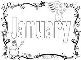 Coloring Pages Gorgeous January Coloring Page Pages Of Happy For