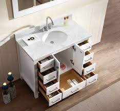 single sink vanity. Brilliant Vanity Ariel Cambridge 43 For Single Sink Vanity N