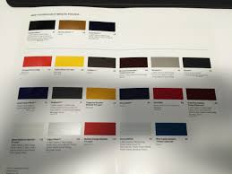 Ford Fusion Color Chart 2017 Ford Fusion Color Chart Best Picture Of Chart