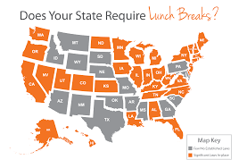 Lunch Break Laws By State State Laws On Breaks Paycor