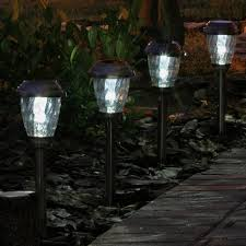 pathway solar lights outdoor set the right ambiance for your