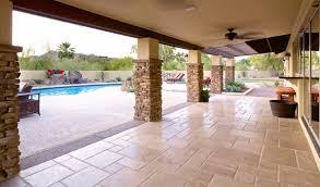 stone travertine flagstone patio