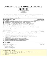 Administrative Assistant Resumes Mesmerizing Resume For Office Assistant Fresh Other Skills Resume Yeniscale