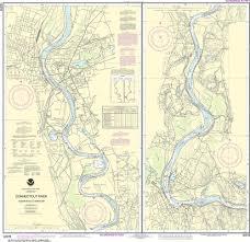 Noaa Nautical Chart 12378 Connecticut River Bodkin Rock To Hartford