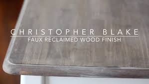 Grey Wash Wood Stain Diy Reclaimed Wood Finish Chrstphrblk Youtube