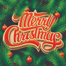 Pictures Of Merry Christmas Design Merry Christmas Design With Pine Needles Background Welovesolo