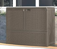 R Extra Large Deck Box 200 Gallon Awesome Boxes Patio