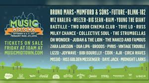 The coronavirus pandemic has forced atlanta's music festivals to either postpone or cancel their events. Bruno Mars Other Top Acts To Headline Music Midtown Wrcbtv Com Chattanooga News Weather Amp Sports