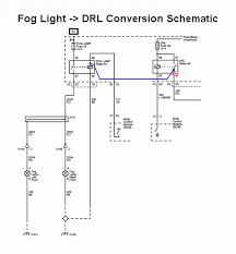 simple reroute drls to foglights mod for hid users pontiac it to the coil pin of the fog light relay as shown in this modified schematic thus no changes need to be made to the car s wiring harnesses
