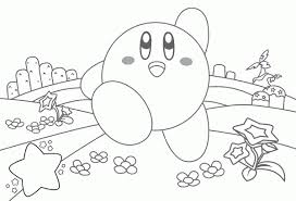 Small Picture evolutions kirby coloring pages astounding kirby page coloring