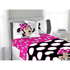 bedroom disney minnie mouse twin in bag piece bedding set with mickey comforter size and