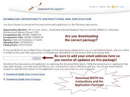 Nih Grants Gov Fellowships Hands On Session Ppt Download