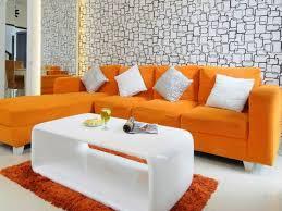 38 Orange Living Room Furniture Low Moq Orange Living Room Sofa