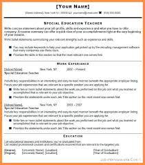 teacher job resumes sample resume fresher teacher job objective section in the of