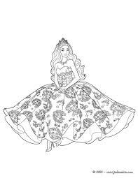Coloriages Barbie La Princesse Et La Popstar 35 Coloriages Barbie Coloriage Gratuit Barbie Princesse L