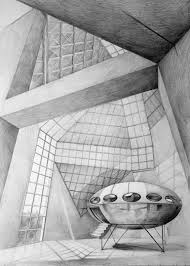 modern architecture drawing. Contemporary Architecture Architect Ming Pei Grand Duke Jean Museum Of Modern Art Luxembourg  Drawing By On Architecture Drawing