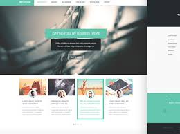 Modern Website Templates Gorgeous 28 PixelPerfect Free PSD Website Templates