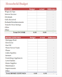 9 Budget Spreadsheet Templates – Free Samples, Examples & Format ...