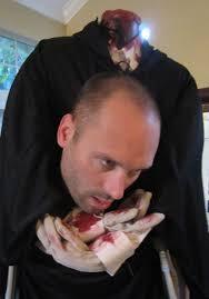 dressing the headless zombie