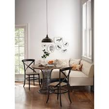 Breakfast Nook Home Decorators Collection Easton Beige Linen Breakfast Nook