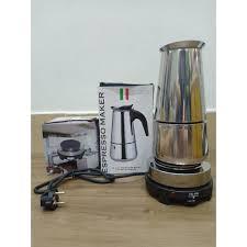 BỘ ẤM PHA CÀ PHÊ MAKER 450ml + TẶNG KÈM BẾP ĐIỆN MINI 500W - Home and  Garden - Phụ kiện uống trà khác Thương hiệu OEM