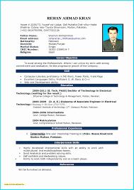 Address Format Resume New Free Downloadable Resume Best Format For