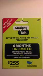 Straight talk wireless operates similarly by offering plans from as little as 5gb of data with unlimited talk and text to plans that offer 20gb of hotspot data and 100gb of cloud storage. Amazon Com Straight Talk 6 Months Unlimited Refill Service Card Mail Delivery