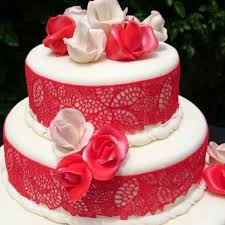 Redlace Fondant Cake In Bangalore Buy Cakes Online In Bangalore