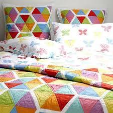 20 best HONEYCOMB QUILTS images on Pinterest | Hexagon quilting ... & Honeycomb Bedspread Single Adamdwight.com