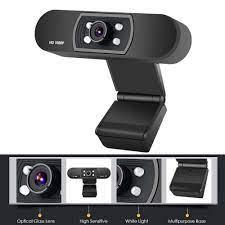 Satın Al HD Web Kamerası 1080P Ile Mic Klip PC Dizüstü Masaüstü Bilgisayar  USB 2.0 Webcam Bilgisayar Kamerası Web Kamerası 360 Derece, TL401.47