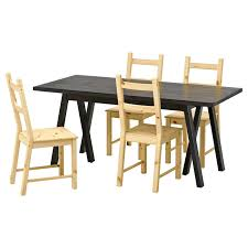 Ikea Kitchen Table 2 Chairs Dining Room Sets Set Beautiful Barrel