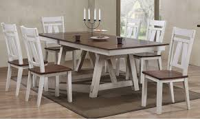 bernards winslow 7piece dining table set item number 56366x5637 7 piece dining room set n34