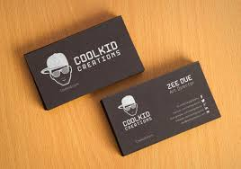 Free Black Textured Business Card Design Template Mockup Psd
