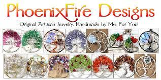 phoenixfire designs original artisan gemstone jewelry offering world famous wire wrapped tree of life