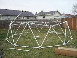 geodesic greenhouse kits made from pvc pipe