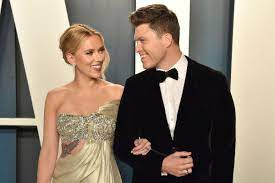Colin Jost confirms that Scarlett ...