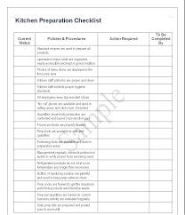 Kitchen Checklists – Ipage.info