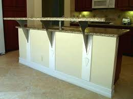 support granite countertop floating granite support also