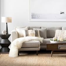 Modern black furniture Designer Sectionals Allmodern Modern Contemporary Living Room Furniture Allmodern
