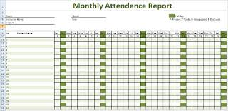 Attendance Tracking Template -10+ Free Word, Excel, PDF Documents ...