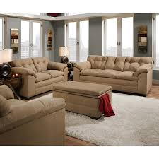 Microfiber Living Room Furniture Microfiber Living Room Sets Youll Love Wayfair